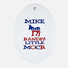 Mike - Grandpa's Democrat Oval Ornament