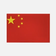 Flag of China Rectangle Magnet (10 pack)