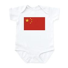 Flag of China Infant Bodysuit