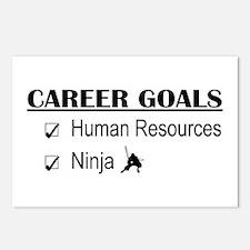 HR Career Goals Postcards (Package of 8)