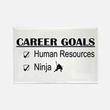 HR Career Goals Rectangle Magnet