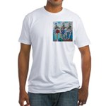 The Three Bears Fitted T-Shirt