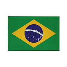 Flag of Brazil Rectangle Magnet