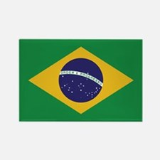 Flag of Brazil Rectangle Magnet