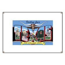 Texas Greetings Banner