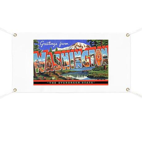 Washington State Greetings Banner