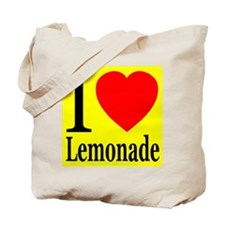 I Love Lemonade Tote Bag