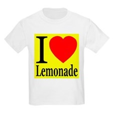 I Love Lemonade Kids T-Shirt