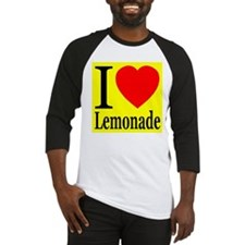 I Love Lemonade Baseball Jersey