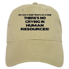 There's No Crying HR Baseball Cap
