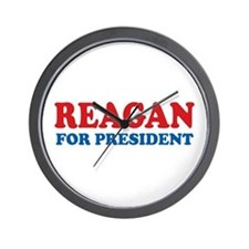 Reagan for President Wall Clock