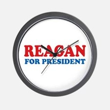 Reagan for President Wall Clock