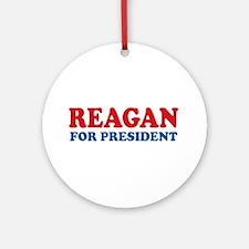 Reagan for President Ornament (Round)