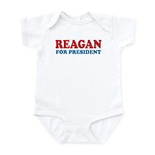 Reagan for President Infant Bodysuit
