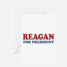 Reagan for President Greeting Card