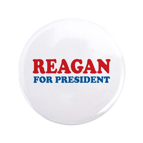 """Reagan for President 3.5"""" Button (100 pack)"""