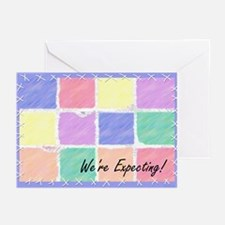 We're Expecting 1c Greeting Cards (10)