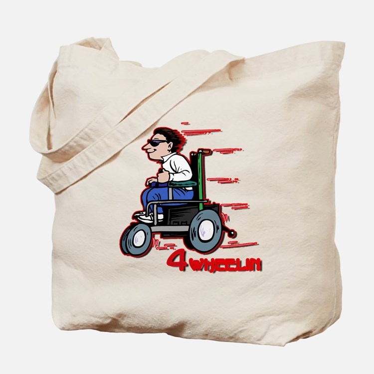 Four Wheelin' Tote Bag