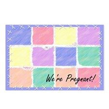 We're Pregnant Postcards (8)