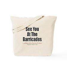 Les Miserables 2008 Tote Bag