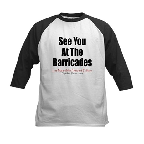 Les Miserables 2008 Kids Baseball Jersey