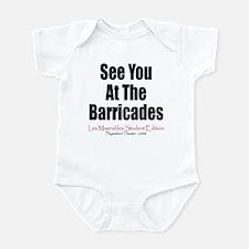 Les Miserables 2008 Infant Bodysuit