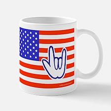 ILY Flag Mug