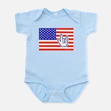 ILY Flag Infant Bodysuit