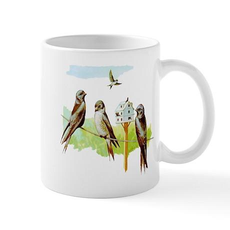Purple Martin Bird Mug