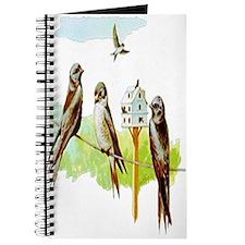 Purple Martin Bird Journal