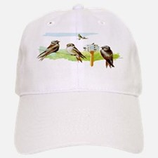 Purple Martin Bird Baseball Baseball Cap