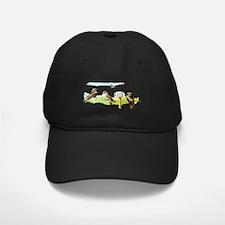 Purple Martin Bird Baseball Hat
