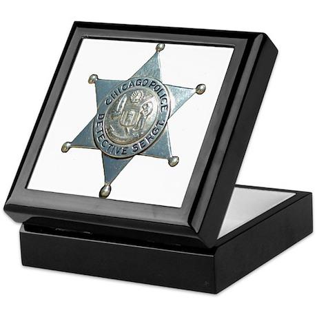 Chicago, Illinois Police Dete Keepsake Box