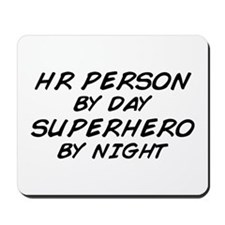 HR Superhero by Night Mousepad