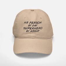 HR Superhero by Night Baseball Baseball Cap
