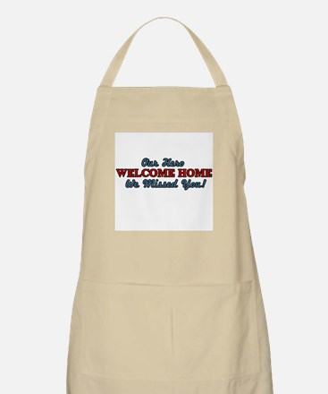Our Hero Welcome Home BBQ Apron