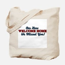 Our Hero Welcome Home Tote Bag