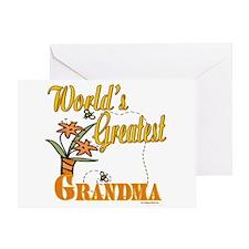 Greatest Grandma Greeting Card