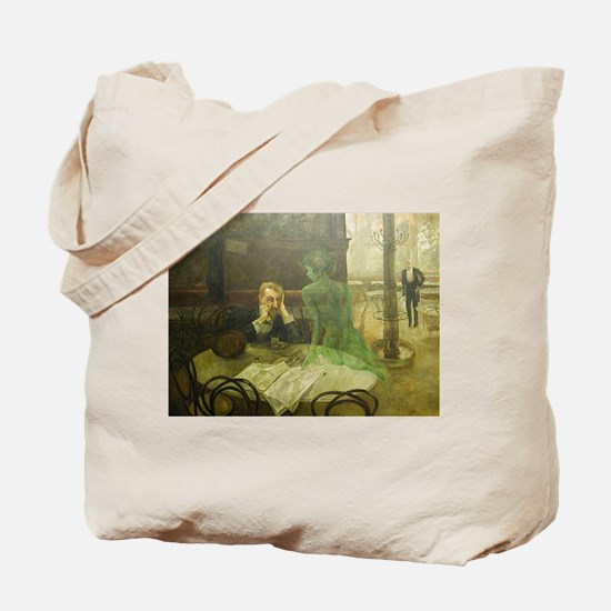 Funny Muse Tote Bag