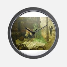 Unique Absinthe Wall Clock