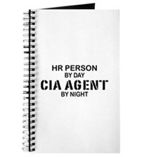 HR CIA Agent by Night Journal