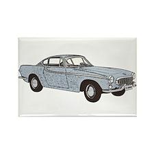 Volvo 1800 p1800 1800s 1800es Rectangle Magnet