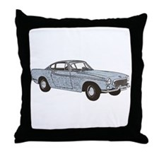 Volvo 1800 p1800 1800s 1800es Throw Pillow