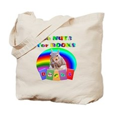 Nuts for Books Tote Bag