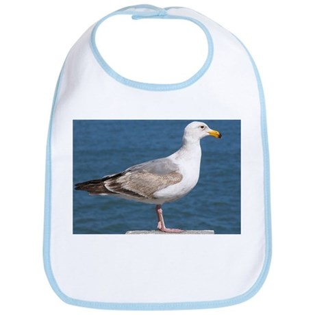 Seagull Photo Bib
