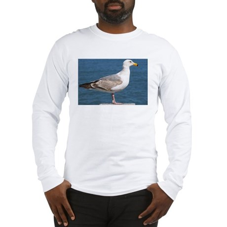 Seagull Photo Long Sleeve T-Shirt