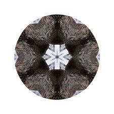 "Beaver Mandala 3.5"" Button"