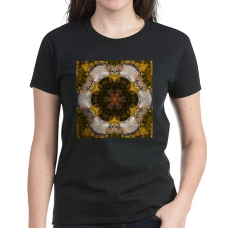Redtail Hawk Mandala Women's Dark T-Shirt