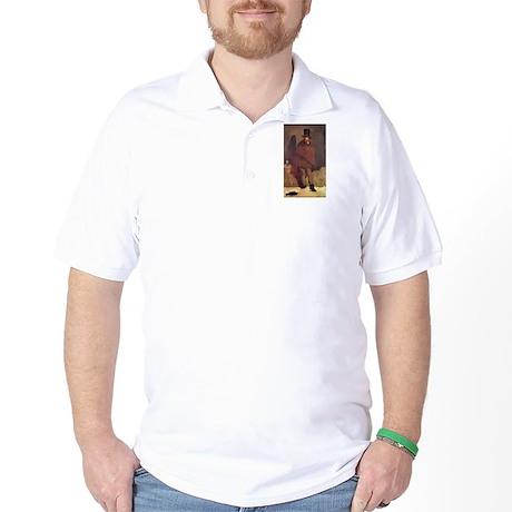 Edouard Manet, The Absinthe D Golf Shirt