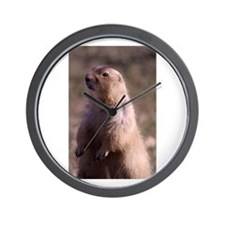 Prarie Dog Photo Wall Clock